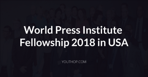 World Press Institute Fellowship 2018 in USA