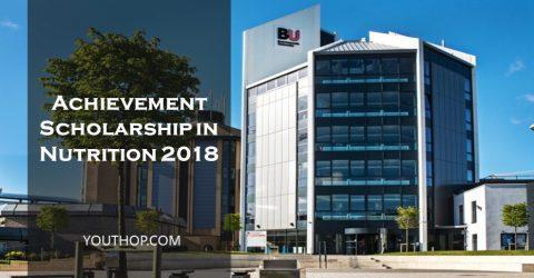 Achievement Scholarship in Nutrition 2018 in UK