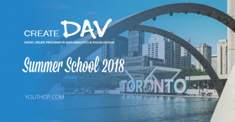 [Fully Funded] CREATEDAV Summer School 2018 in Canada