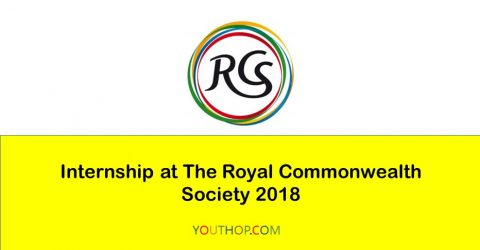 Internship Programme at The Royal Commonwealth Society 2018