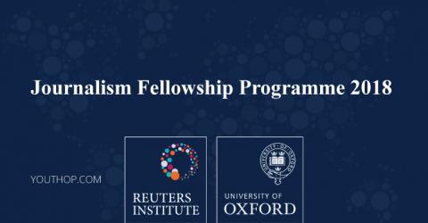 Journalism Fellowship Programme 2018 at University of Oxford
