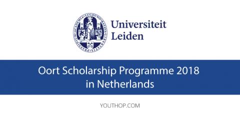 Oort Scholarship Programme 2018 in Leiden University
