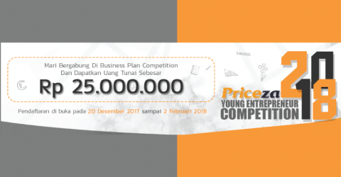 Priceza Business Plan Competition 2018