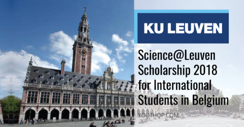 Science@Leuven Scholarship 2018 for International Students in Belgium