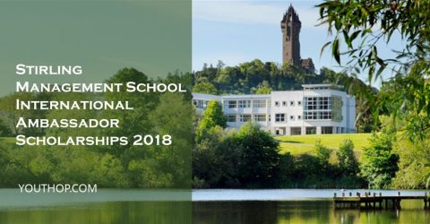 Stirling Management School International Ambassador Scholarships 2018