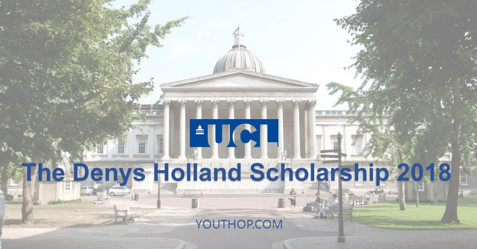 The Denys Holland undergraduate Scholarship 2018 - Youth Opportunities