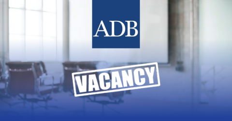 Vacancy for Senior Project Officer at ADB in Pakistan