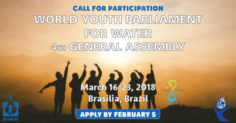 World Youth Parliament for Water General Assembly 2018 in Brazil