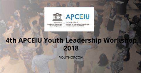 4th APCEIU Youth Leadership Workshop 2018 at Seoul, Republic of Korea