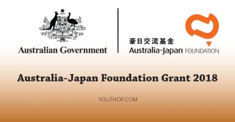 Australia-Japan Foundation Grant 2018