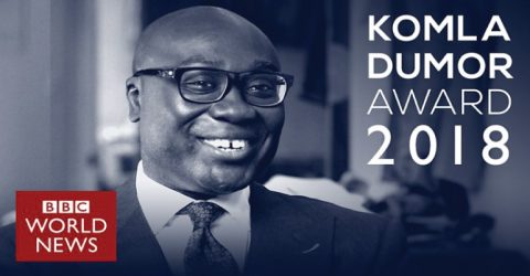 BBC World News Komla Dumor Award 2018 for Africans