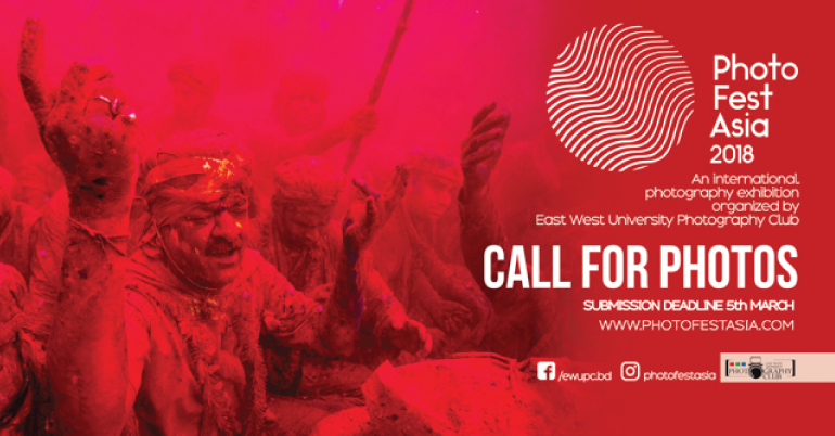 Call For Photos- Photo Fest Asia 2018 - Youth Opportunities