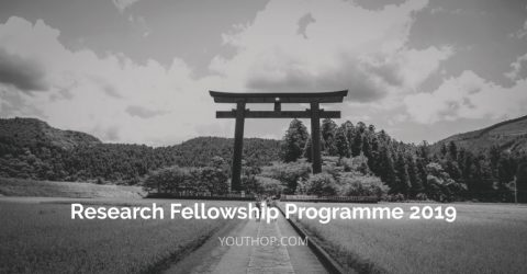 [Fully Funded] Research Fellowship Programme 2019 in Japan