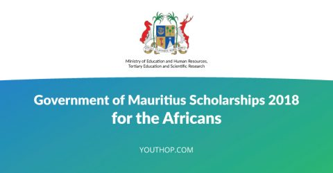 Government of Mauritius Scholarships 2018 for the Africans