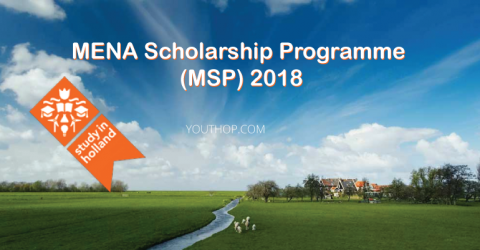 MENA Scholarship Programme (MSP) 2018 in Netherlands