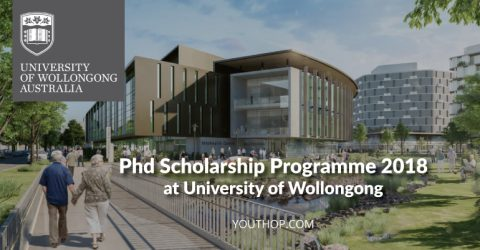 Phd Scholarship Programme 2018 at University of Wollongong