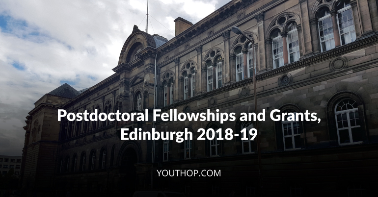 Postdoctoral Fellowships and Grants 2018-19 at University of