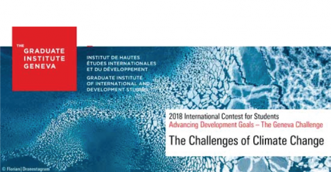 The Geneva Challenge 2018- International Contest for Graduate Students