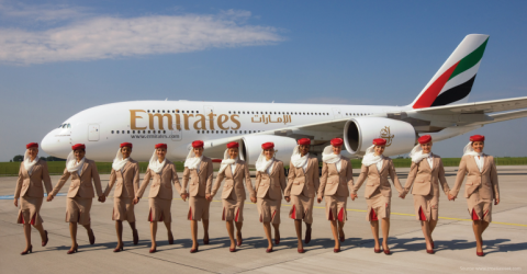 Vacancy for Cabin Crew at Emirates