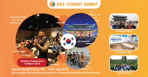Asia Student Summit 2018 in South Korea