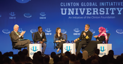 Clinton Global Initiative University 2018