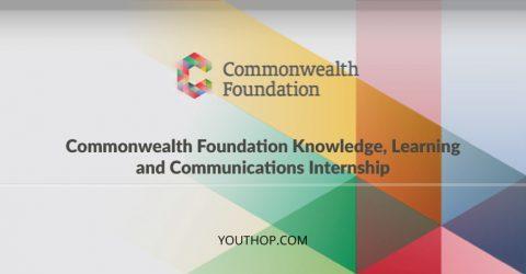Commonwealth Foundation Internship 2018 in London