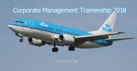 Corporate Management Traineeship 2018 at KLM Royal Dutch Airlines