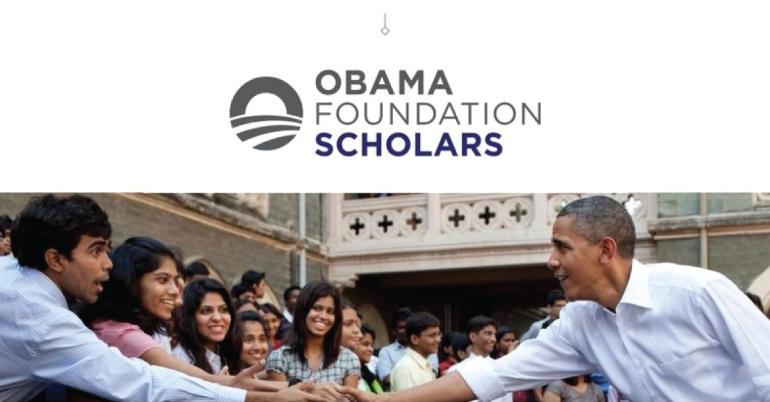 Obama Foundation Scholars Program 2021-22