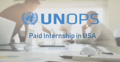 Paid Internship Opportunity 2018 at UNOPS in USA