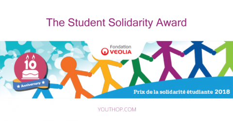 The Student Solidarity Award by the Veolia Foundation