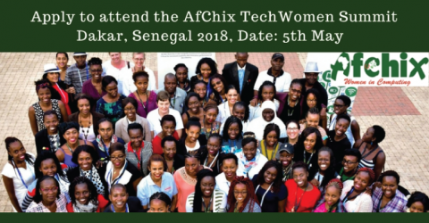 AfChix TechWomen Summit 2018 in Senegal