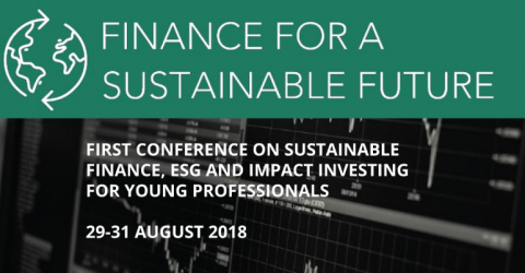 Finance for a Sustainable Future Conference 2018 in Prague