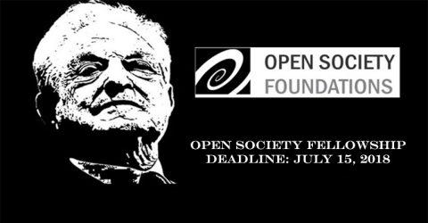 Open Society Fellowship 2018