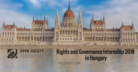 Open Society Internship for Rights and Governance 2018 in Hungary