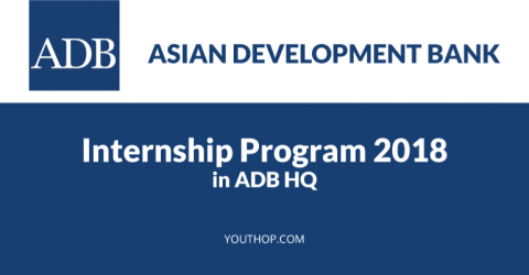 Paid Internship Opportunity at ADB, Philippines