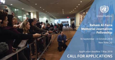 Fully Funded Reham Al-Farra Memorial Journalism Fellowship 2018
