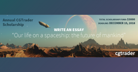 Write An Essay and Win The Annual CGTrader Scholarship 2018