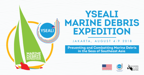 YSEALI Marine Debris Expedition 2018 in Indonesia