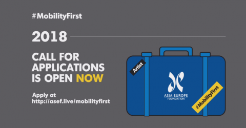 "2018 Asia-Europe Foundation ""Mobility First!"""