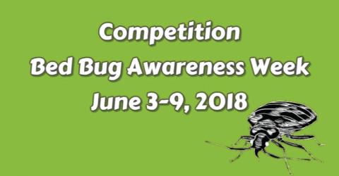 Bed Bug Awareness Week 2018 Writing Contest