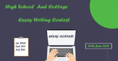 Essay Writing Contest For High School and College Students
