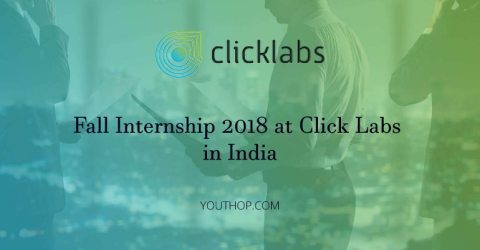 Paid Internship 2018 at Click Labs in India