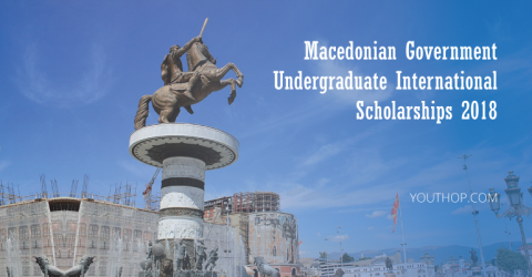 Macedonian Government Undergraduate International Scholarships 2018