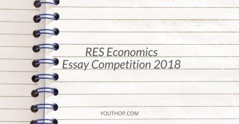 RES Economics Essay Competition 2018