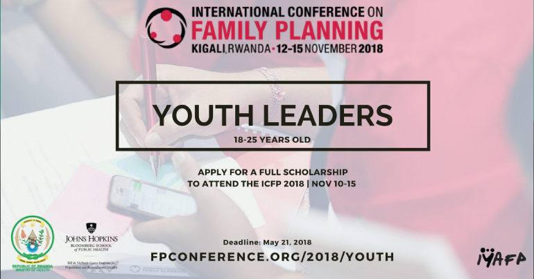 Fully Funded 2018 International Conference on Family Planning in