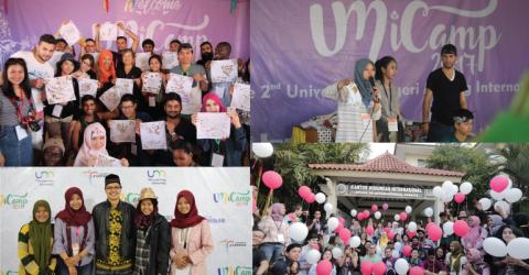 UM iCamp 2018 in Indonesia