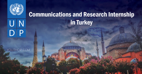 UNDP Communications and Research Internship in Turkey
