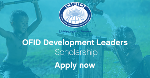 OFID Development Leaders Scholarship for The One Young World 2018 in Netherlands