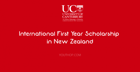 UC International First Year Scholarship in New Zealand