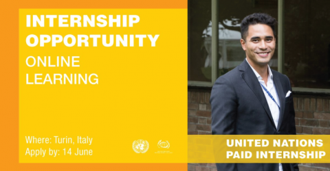 UNSSC Online Learning Internship 2018 in Italy